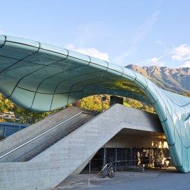 Station of the Nordkettenbahn, Architect: Zaha Hadi, © TVB Innsbruck