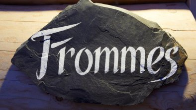 Chalet Frommes Empfang
