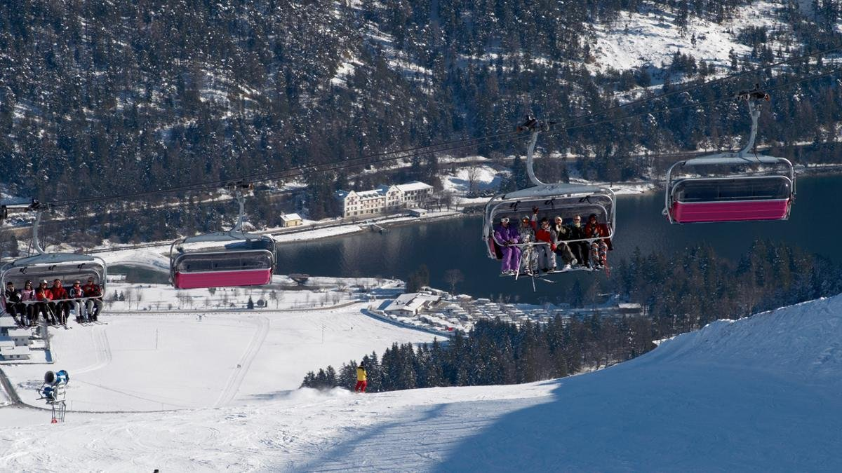 The Christlum-Hochalm ski area guarantees excellent snow conditions and is a well-kept secret among skiers and snowboarders from southern Germany., © Achenkirch im Sommer