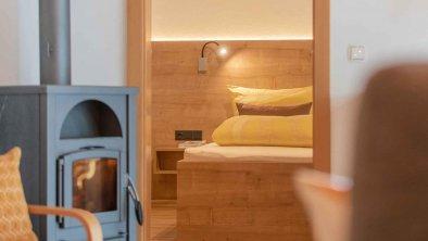 Blick ins Schlafzimmer - Ferienwohnung Gabi, © Gabi Stern