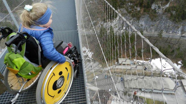 The highline179 hanging footbridge