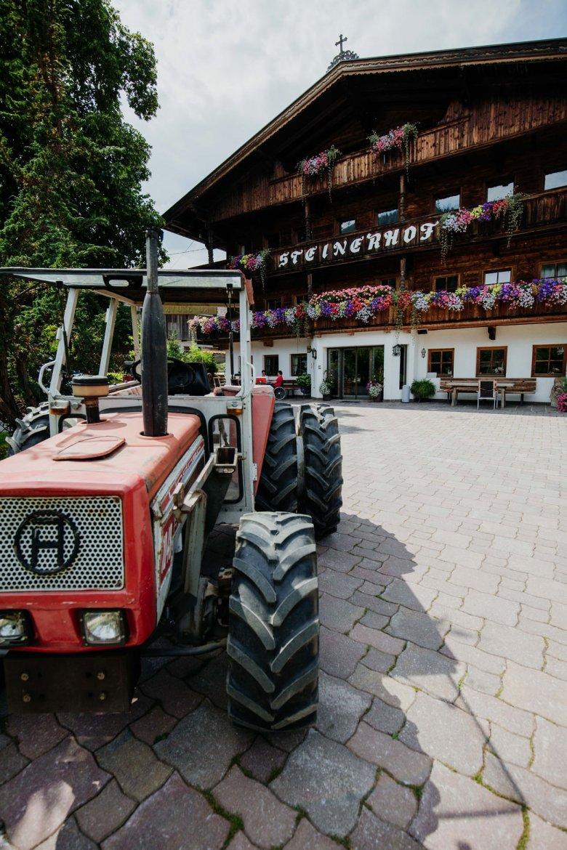The Steinhof farm is home to the largest Krautinger distillery in the Wildschönau region.