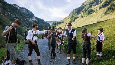 Cattle Drive in Steeg in the Lechtal Valley, © Tirol Werbung/Peter Neusser