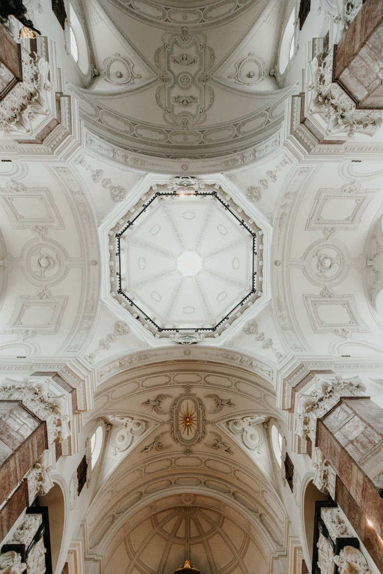 Innsbruck's Jesuit church offers the perfect acoustics for an opera singer.