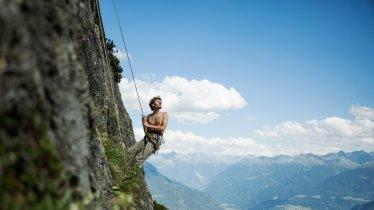 Climbing near the Muttekopfhütte hut, © Tirol Werbung/Peter Neusser