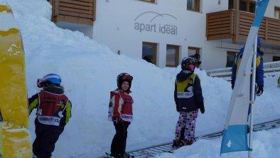 Skischulsammelplatz