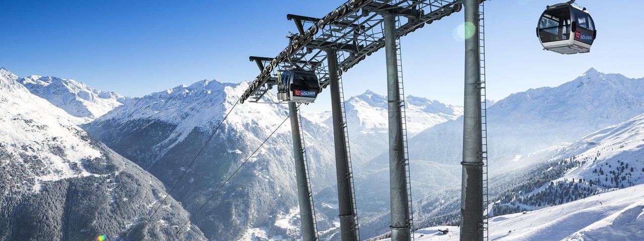 Sölden glacier ski resort, © Ötztal Tourismus/Rudi Wyhlidal