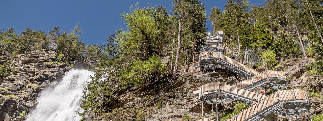 Stuibenfall Waterfall – Ötztal Valley, © Ötztal Tourismus