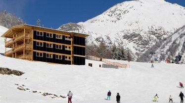 Skifahren direkt von der Haustür aus
