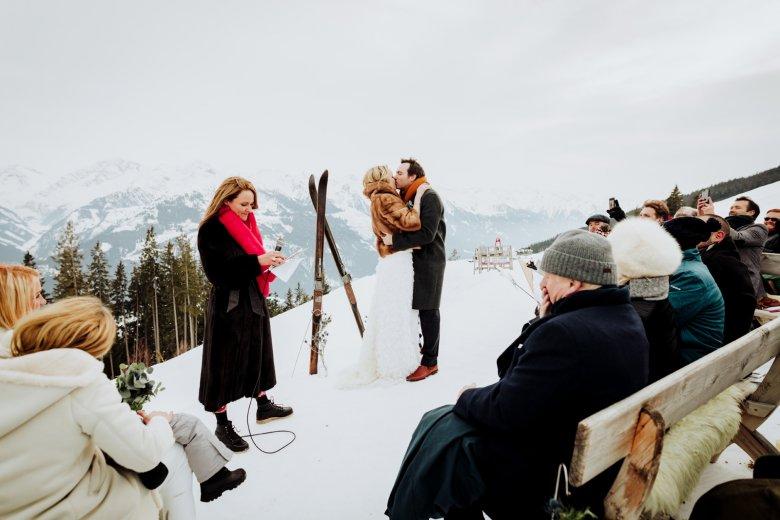 Winter wedding in Tirol