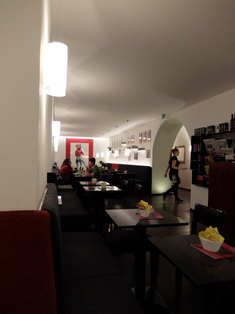 With its sleek furniture and decor it puts a modern spin on the typical Viennese coffeehouse experience. It's about as classic and modern a coffee shop as Innsbruck can offer.