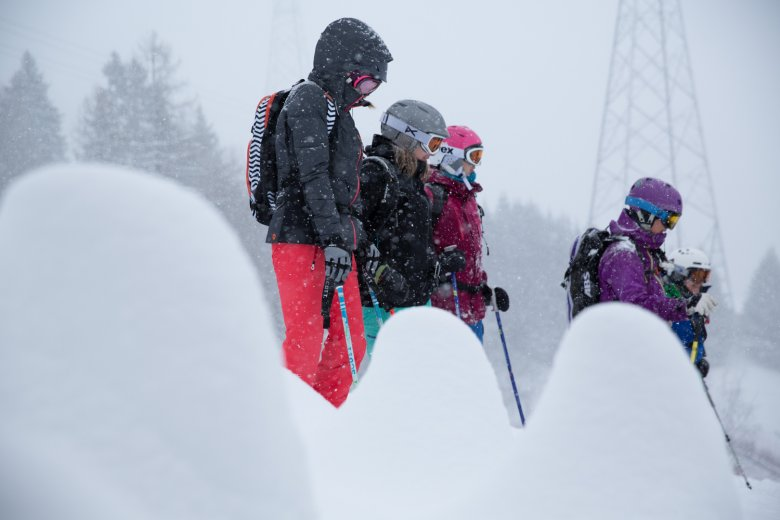 Women's Only Freeskiing Camp in St. Anton am Arlberg.