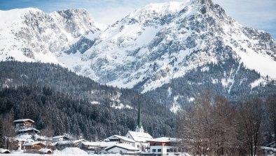 Scheffau im Winter, © TVB Wilder Kaiser/Mathäus Gartner