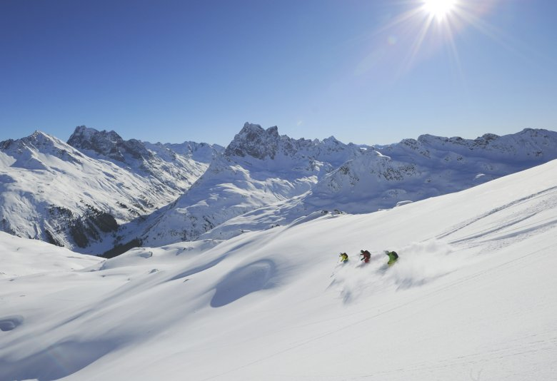 Accelerate your performance in deep powder by taking a private lesson with a certified professional Tirol ski instructor.