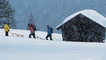 Tobogganing in Tirol, © Tirol Werbung / Bernd Ritschel