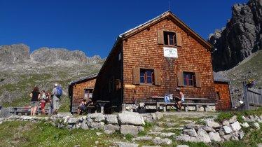 The Hermann-von-Barth-Huette in the Lechtal Alps, © Harald Wolf