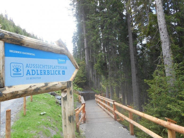 """The dramatic """"Adlerblick"""" (literally, """"Eagle View"""") Viewing Platform is accessible by power wheelchair or SwissTrac."""