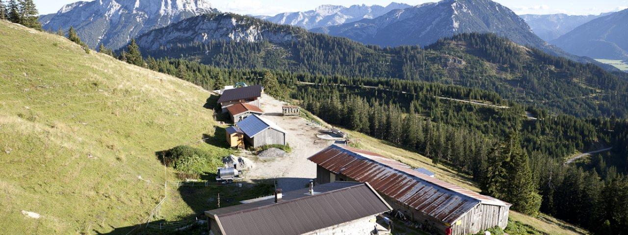 Day 2: Blaubergalm hut in Achenkirch, © Georg Pawlata