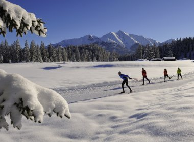 Cross Country Skiing in Seefeld (c) Tirol Werbung