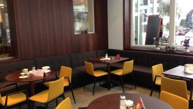Wintergarten im Café