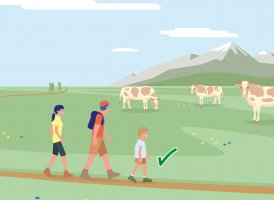 Correct Behaviour Part 5, © Landwirtschaftskammer Tirol