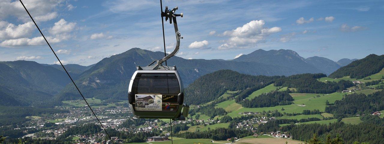 Reitherkogelbahn cable car, © SkiJuwel Alpbachtal Wildschönau