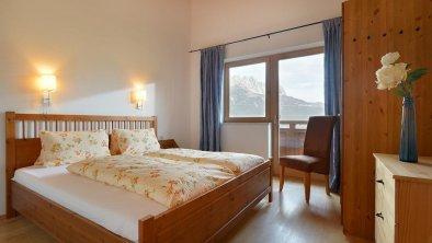 Appartement Wilder Kaiser Schlafzimmer1