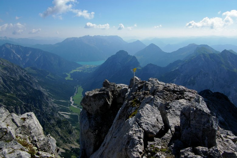 View from the Sonnjoch summit. ©Achensee Tourismus