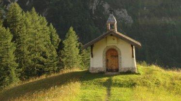 Eagle Walk Stage 11: Chapel near Hallerangeralm, © Tirol Werbung/Holger Gassler
