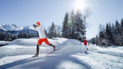 Langlaufen in Leutasch, © Olympiaregion Seefeld, Stephan Elsler