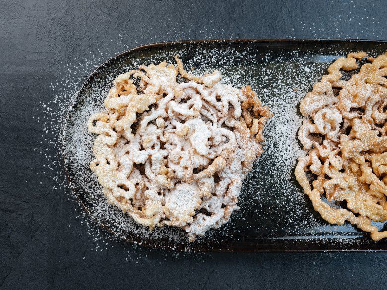 "A wonderfully crispy dessert from Tirol that is fun to make at home: ""Strauben"""