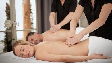 Paarmassage im Private Spa, © Interalpen-Hotel Tyrol