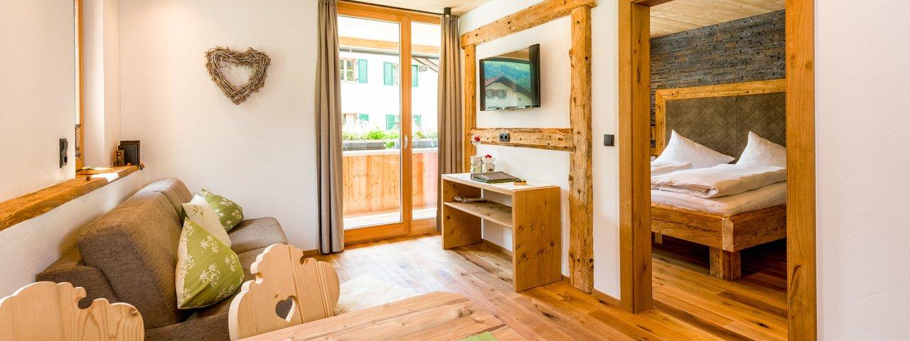 Holiday apartment at the Lechrefugium, © Lechrefugium