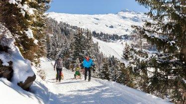 Sledding Run Hochzeiger in Pitztal, © Tirol Werbung/Robert Pupeter