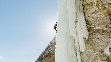 Ice climbing in Tirol , © Tirol Werbung / Haindl Ramon