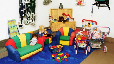 Komfort-Apartments Zufriedenheit - Spielzimmer, © Komfort-Apartments Zufriedenheit