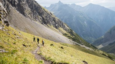 Hiking in the Lechtal Alps, © Tirol Werbung/Dominik Gigler