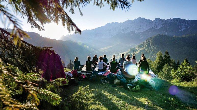 Sunrise adventures in the Wilder Kaiser Mountains, © Christina Glöckner