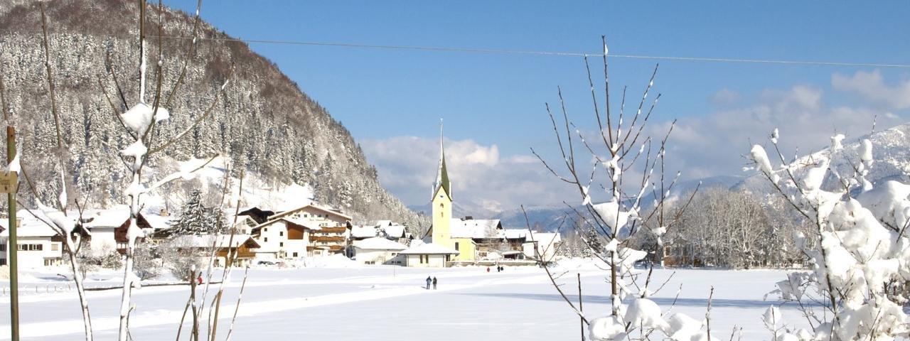 Walchsee in winter, © Kaiserwinkl