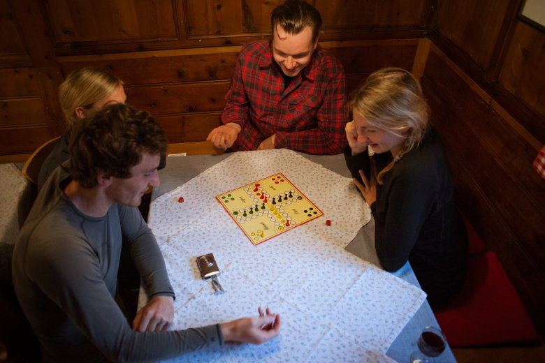 Swapping WhatsApp and Instagram for board games and deck chairs: Hut keeper Christian Rimml observes that being offline is the new luxury for young ones.