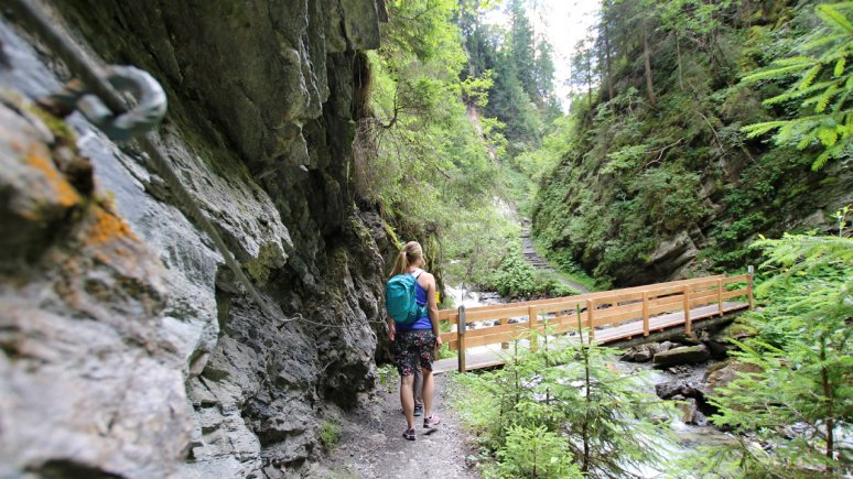 Radurschl Gorge near Pfunds, © TVB Tiroler Oberland/Kurt Kirschner