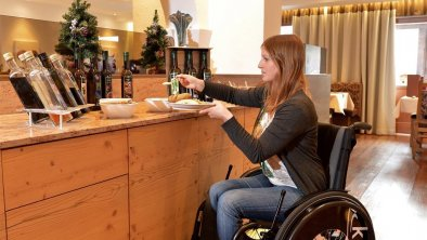 Accessible dining room, © Hotel Hochfilzer GmbH