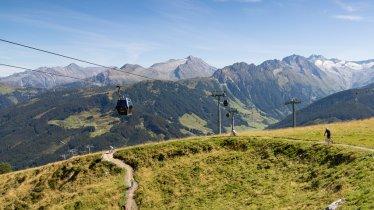 Isskogelbahn cable car in Gerlos, © Zillertal Arena
